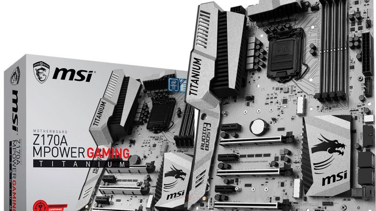 MSI Z170A MPower Gaming Titanium inceleme