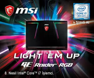 MSI NB GE73 RAIDER RGB 8RE-284XTR I7-8750H 32GB DDR4 GTX1060 GDDR5 6GB 256G