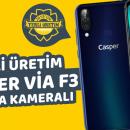 3 Kameralı Yerli Akıllı Telefon Casper Via F3 İnceleme