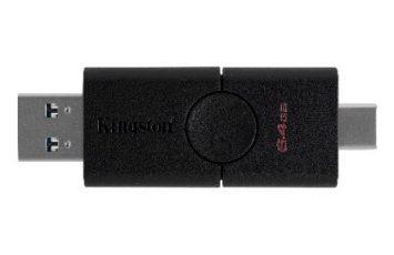 Kingston'dan Çift Yönlü, Çift Arayüzlü yeni USB Bellek; DataTraveler Duo