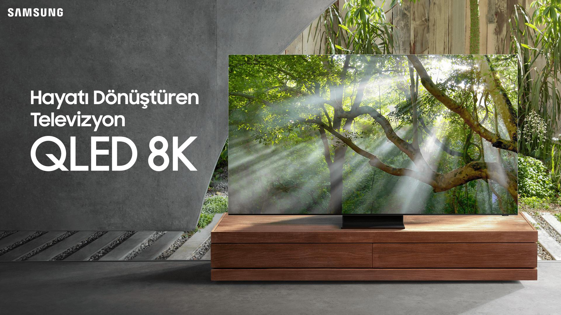 Samsung Q950T QLED 8K Smart TV Tanıtıldı