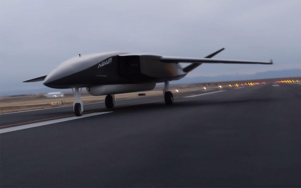 Dünyanın en büyük drone'u Ravn X