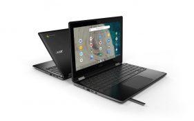Acer Spin 511 ve 512 Chromebook'ları tanıttı