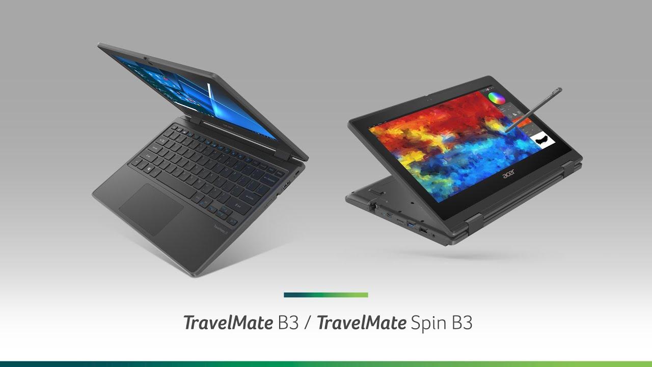 Acer TravelMate Spin B3 tanıtıldı