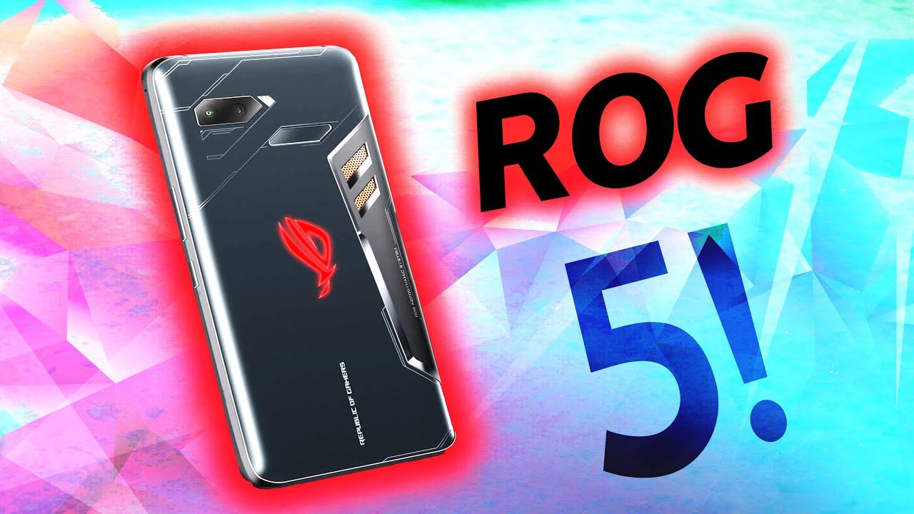 Asus ROG Phone 5 özellikleri belli oldu