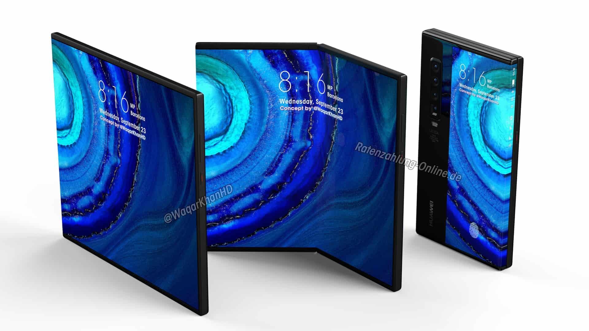 Huawei Mate X2'nin özellikleri sızdırıldı