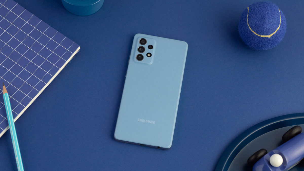 Samsung Galaxy A72 yeni bir güncelleme aldı