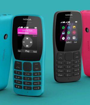 Nokia'dan bir tuşlu telefon daha geldi; işte Nokia 110 4G