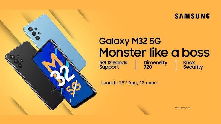Samsung Galaxy M32 5G tanıtıldı; işte Samsung'un yeni cihazı