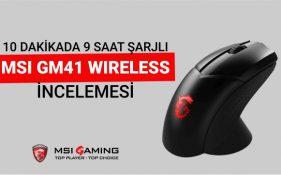 MSI Clutch GM41 Wireless İncelemesi